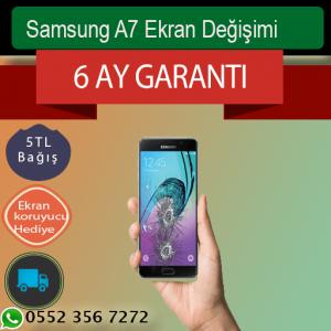 Samsung A7 Orjinal Ekran Değişimi