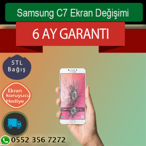 Samsung C7 Ekran Değişimi 489 TL Kadıköy