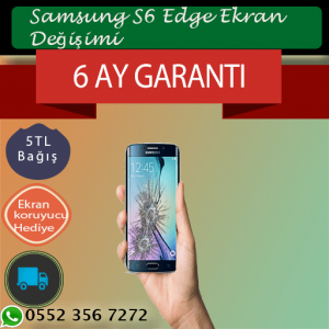 Samsung S6 Edge Ekran Değişimi 739 TL Kadıköy