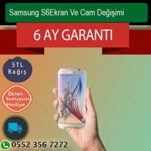 Samsung S6 Ekran Ve Ön Cam Değişimi