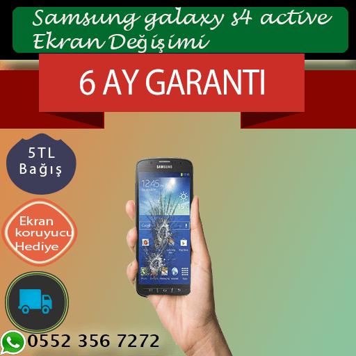 Samsung Galaxy S4 Active Orjinal Ekran Değişimi