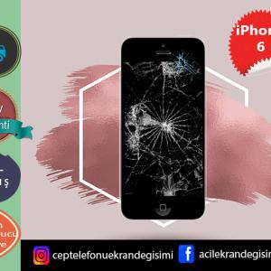 Apple İphone 6 Ekran Değişimi Fiyatı 129 TL-İPhone 6 Ekran Değişimi Kadıköy