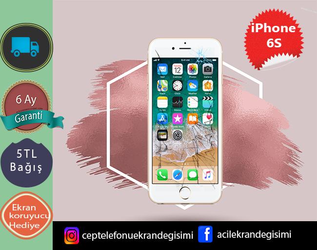iPhone 6s Ekran Değişimi 159 TL-Kadıköy iPhone 6s Ekran tamiri