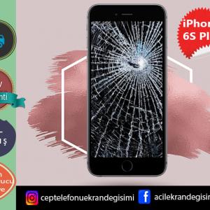 iPhone 6s Plus Ekran Değişimi Fiyatı 189 TL-Kadıköy iPhone 6s Plus Ekran Tamiri