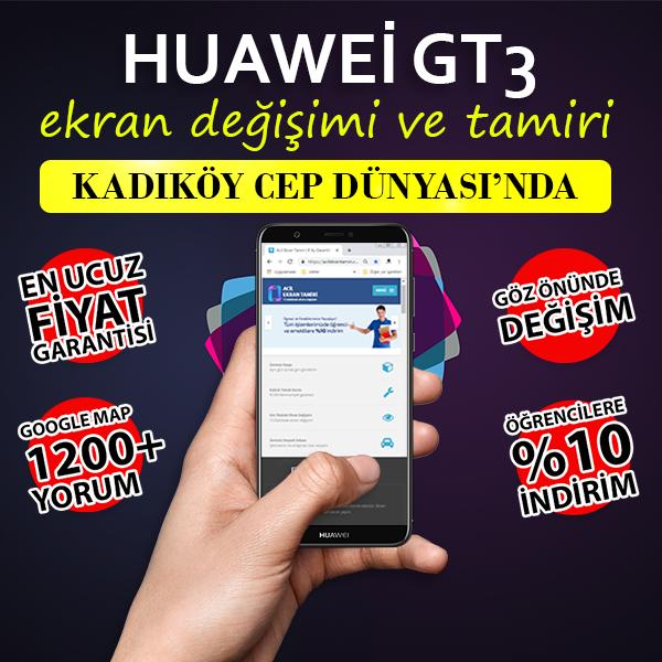 Huawei Gt3 Ekran ve Kasa Değişimi Fiyatı