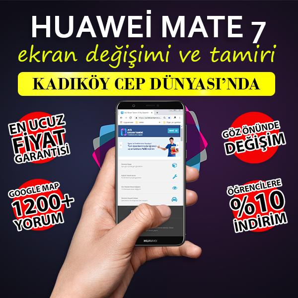 Huawei Mate 7 Ekran Deiimi Kadky