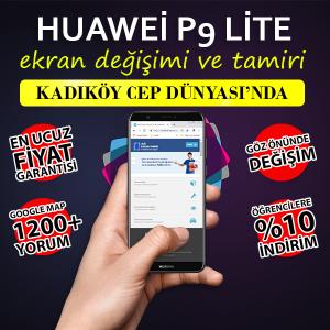Huawei P9 Lite Ekran Değişimi Kadıköy