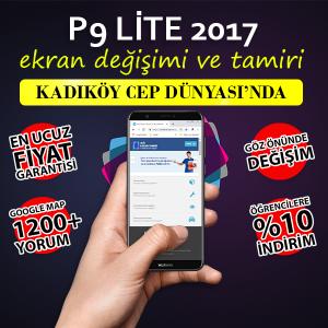 Huawei P9 Lite 2017 Ekran Değişimi Fiyatı