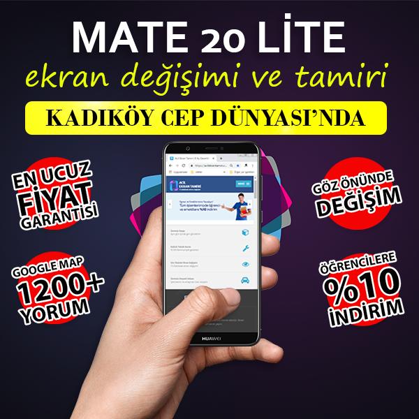 Huawei Mate 20 Lite Ekran Değişimi Fiyatı
