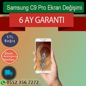 Samsung C9 Pro Ekran ve Telefon Tamiri
