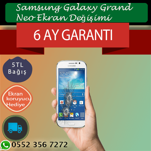 Samsung Galaxy Grand Neo Orjinal Ekran Değişimi