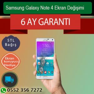 Samsung Galaxy Note 4 Ekran Değişimi