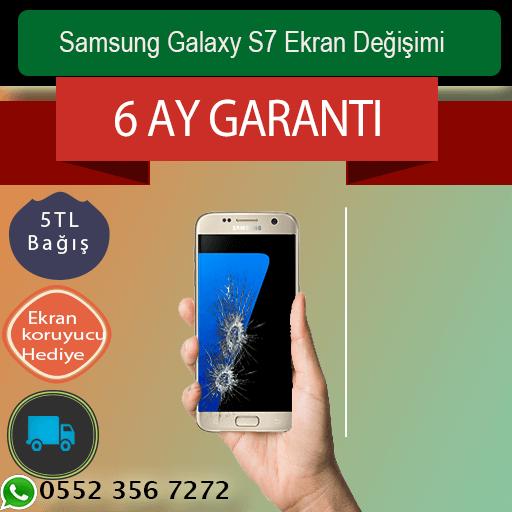 Samsung Galaxy S7 Ekran Değişimi 569 TL Kadıköy