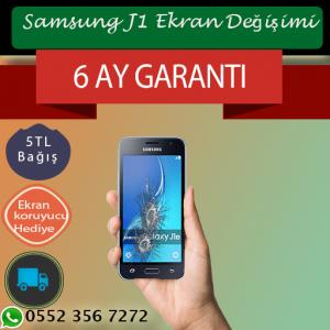 Samsung J1 Ekran Değişimi 219 TL Kadıköy