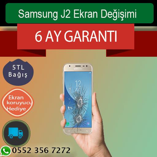 Samsung J2 Ekran Değişimi Fiyatı 229 TL