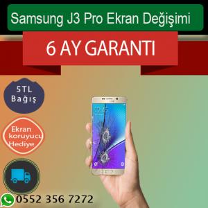 Samsung J3 Pro Ekran Değişimi 289 TL Kadıköy