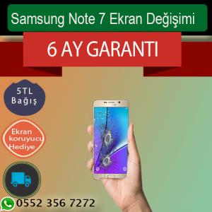 Samsung Note 7 Orjinal Ekran Değişimi