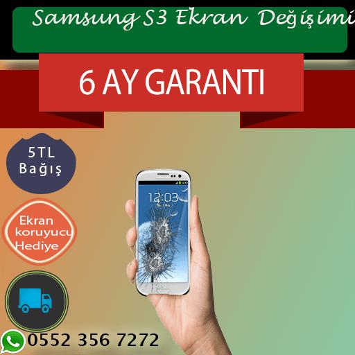 Samsung S3 Ekran Değişimi