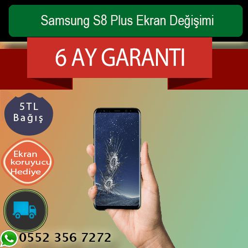 Samsung S8 Plus Ekran Değişimi 1400 TL