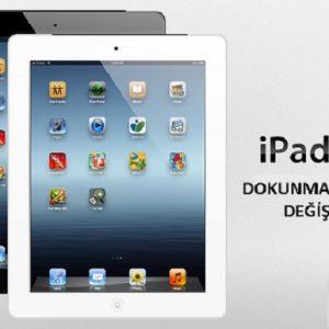 iPad 3 dokunmatik cam değişimi-İPad 3 ekran değişimi