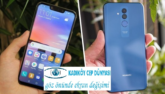 Huawei Mate 20 Lite Ekran Değişimi Fiyatı 299 TL- Kadıköy Huawei Ekran Değişimi