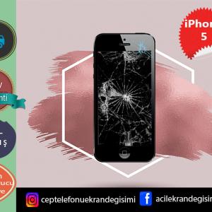 İphone 5 Dokunmatik Ekran Tamiri 99 TL