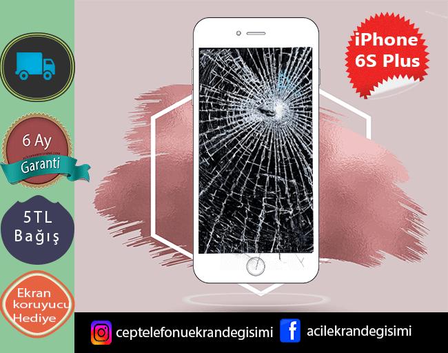 Kırık iPhone 6s Plus Ekran Değişimi Kadıköy