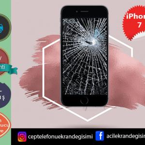 İphone 7 Ekran Değişimi Fiyatı 189 TL-Kadıköy Telefon ve EkranTamiri