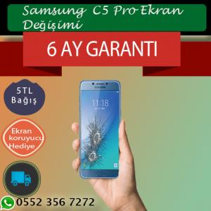 Samsung C5 Ekran ve Ön Cam Değişimi