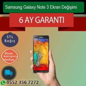 Samsung Galaxy Note 3 , Note 3 Neo Ekran Değişimi