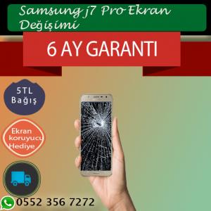 Samsung J7 Pro Ekran Değişimi Fiyatı 319 TL-Kadiköy J7 Pro Ekran Değişimi