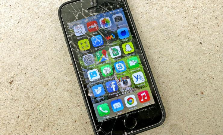 Ekranı Kırık Şifreli Telefondan Veri Kurtarma